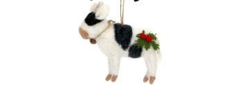 Cow - with Holly and Bell