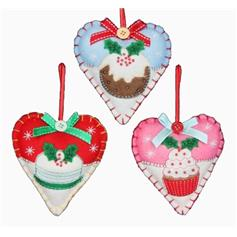 Bake-off Heart decorations