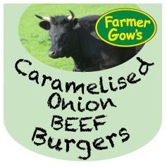 Beef Burgers - Caramelised Onion
