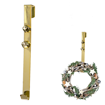 wreath hanger - gold