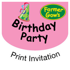 Party invitations - FREE