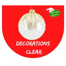Clear Decorations