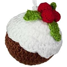 Christmas Pudding - knitted