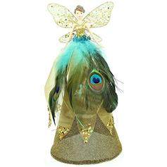 Peacock Angel Tree Topper
