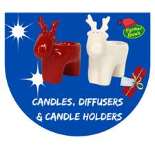 Candles, Diffusers & Candle Holders