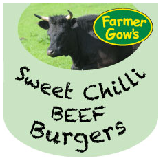 beef burgers - Sweet Chilli
