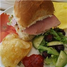 Filled Roll - Ham