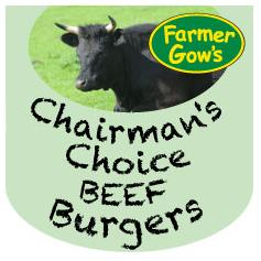 Beef Burgers - Chairman's Choice