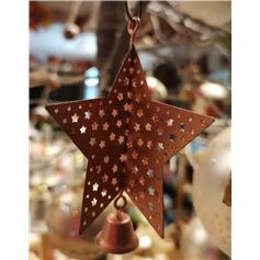 Christmas Star with Bell