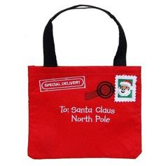 Felt 'Letter to Santa' Bag - Special Delivery