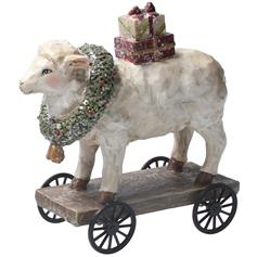 Sheep on Cart