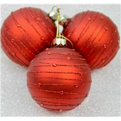 Astral Bands Bauble - Cherry with Glitter Beads
