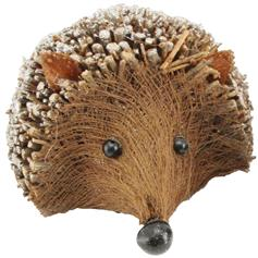 Twig Hedgehogs - with Glitter, large