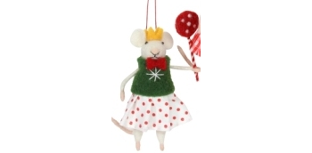 Mouse - Girl with Lollipop (green)