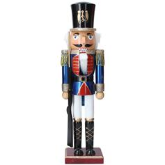Nutcracker - blue with rifle