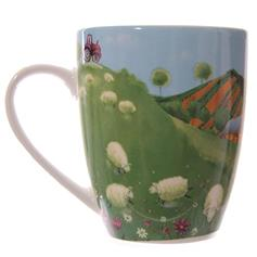 Mug - Jan Pashley Sheep in The Countryside